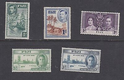 Stamps Fiji George VI MH selection Victory set MNH