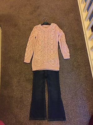 Girls Next Jumper And Jeans Age 5-6 Girls