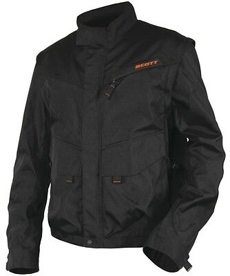 SCOTT Adventure Jacke, Schwarz-Orange, L, statt 149,95 €