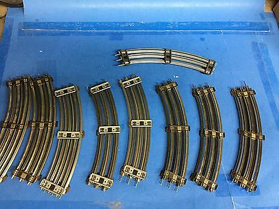 """Lionel O scale train track O27 GAUGE track 16 curved 31"""" sections for 1 price"""