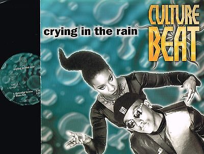 "CULTURE BEAT Crying In The Rain 2x12"" VINYL Dance Pool ‎GERMANY DAN 662882 6 @ex"