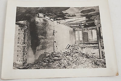 29650 Crown Prince House US Army Signal Corps Official Photograph WWI Int Bombed