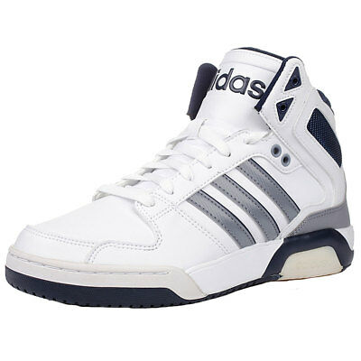 Mens Adidas Neo Ortholite Insoles Basketball Trainers 3S Lace Up Hi Sports Shoes