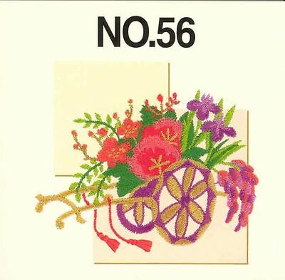 Brother Embroidery Card PED, No. 56 ASIA Brand New