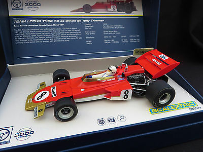 Scalextric C3657A - LOTUS 72 - Tony Trimmer