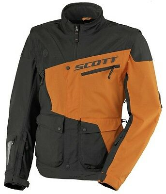 SCOTT 350 Enduro Jacke, Schwarz-Orange, L