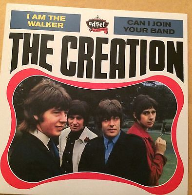 """The Creation 7"""" P/S Psych Freakbeat Mod 45 The Walker FREE UK P&P"""