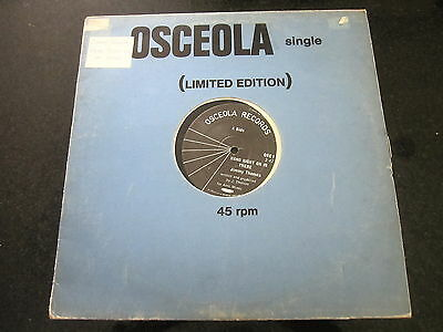 """Jimmy Thomas """"hang Right On In There"""" Uk 12"""" Northern Soul Osceola"""