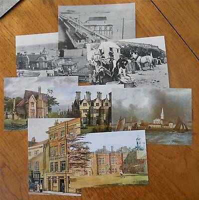 8 REPRODUCTION POSTCARDS of ESSEX