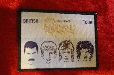Queen - Original / Official 1982 Hot Space British Tour Patch . Rare!