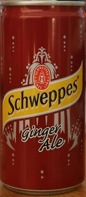 Schweppes Can, Ginger Ale , South Africa