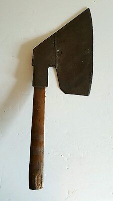 Antique Large 5 1/2Lb Right Hand Goosewing Side Axe