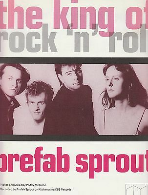 The King Of Rock 'n' Roll - Prefab Sprout - 1987 Sheet Music