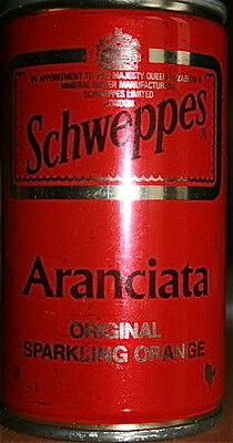 Schweppes Red Orange, Steel Can, Italy