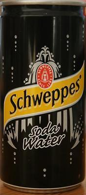 Schweppes Can, Soda Water, South Africa
