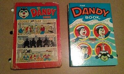Dandy classic annuals 1959 and 1963