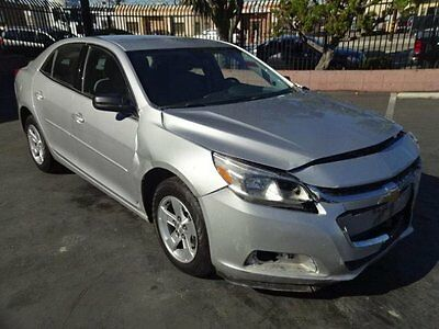 2016 Chevrolet Malibu LS 2016 Chevrolet Malibu LS Crashed Salvage Rebuilder Perfect Project!! Wont Last!!