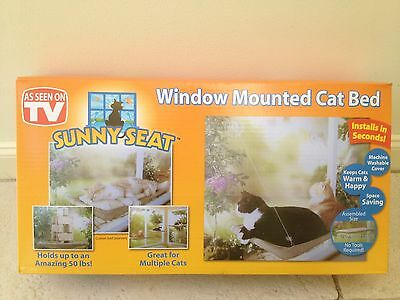 NEW Cat Window Mounted Sunny Seat Cat Bed With Color Box Package Fast Delivery