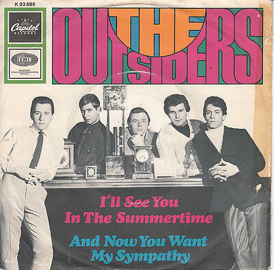 The Outsiders 1967 German Ps *i'll See You In The..* Beat Garage Rock Psych