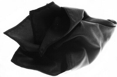 Black Horosafe Watch Polish Buffing Cleaning Cloth - ULTRA SOFT