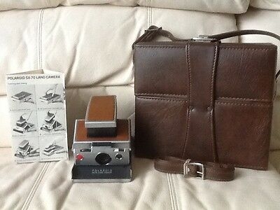 Polaroid SX-70 Instant Camera-Fully Tested&Working-GreatCondition-Ships Same Day