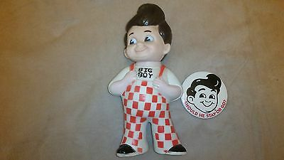 vintage bob big boy bank & botton - 1973