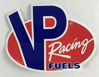 """NEW Lot of 2 VP Racing Fuels Stickers Decals 4"""" x 3"""" Red & Blue"""