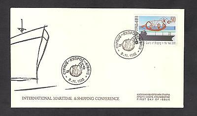 CYPRUS 1992 MARITIME CONFERENCE Quality of SHIPPING in year 2000 UN/AL FDC SHIP