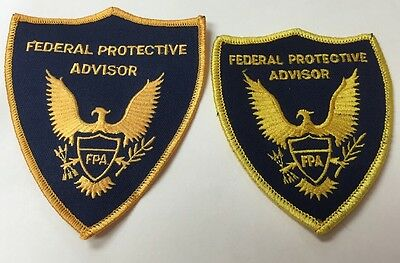 Puerto Rico Police Patch...federal Protective Advisor Two Different