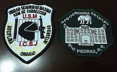 Puerto Rico Police Patch...penal State Department  Rio Piedras Two Different
