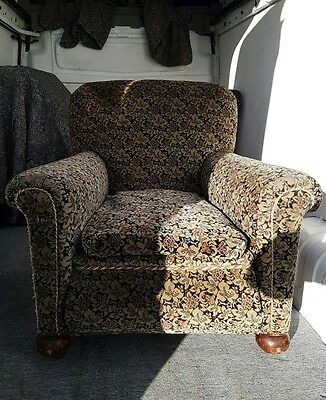 Lovely antique vintage 1920s armchairs x 2