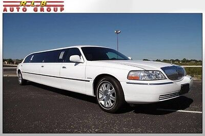 2006 Lincoln Town Car Executive Custom 10' Stretch Krystal Limousine  2006 Lincoln Custom 10' Stretch Krystal Limo One Of A Kind Private Owner 9K Mile