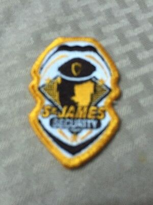 Puerto Rico Police Patch...st. James Security