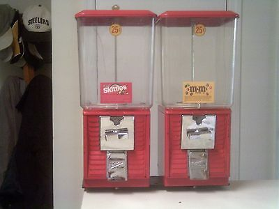 Two Northwestern Super 60 Candy Vending Machines