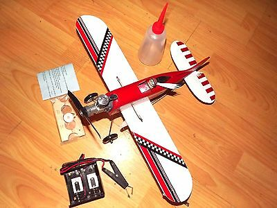 """""""The Raven"""".18"""" Block balsa control line model with Engine"""