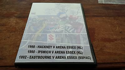 Arena Essex Hammers---Away Dvd Boxed Set---3 Away Matches--1990's