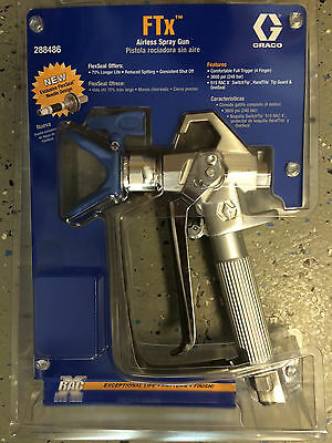 Graco FTx Airless Spray Gun with tip and guard 288486