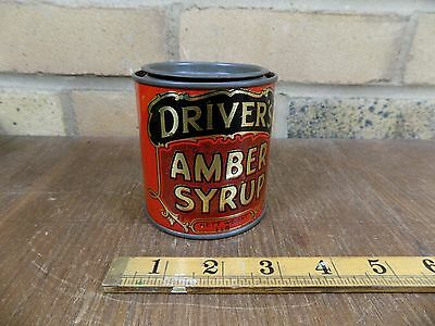 Driver's Cheshire treacle Golden Syrup Advertising Grocery c1920