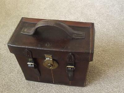 Vintage Leather Cartridge Case By London Haymarket Maker From Local Country Hall