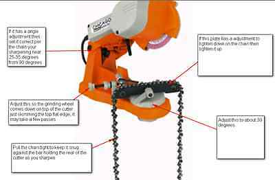 Chainsaw Chain Sharpening. We Will Sharpen Your Chain And Return It To You