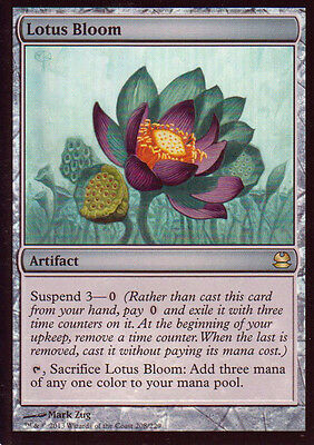 MTG 1x Foil Lotus Bloom from modern Master 2013 -La Place-