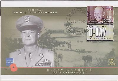 D-Day Leaders - 60th Anniversary - General Dwight D Eisenhower - 2004