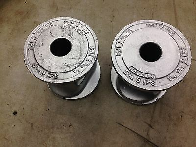 Lot Of 2 Greenlee 1-0934 Conduit Support Rollers For 884 Bender