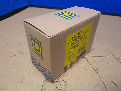 (Lot Of 6) Square D Cc 112.0 Overload Relay Thermal  Units (15E)