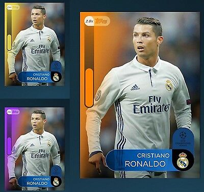 CRISTIANO RONALDO Boosts Yellow 2.4x Purple 2.6x Orange 2.8x Topps Kick Digital