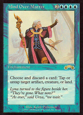 MTG 1x Mind Over Matter from Exodus NM -La Place-