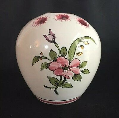 Lallier a Moustiers French Faience Flower Frog Hand Painted