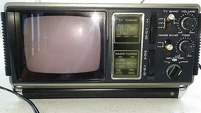 Vintage portable TV-RADIO Hanimex 521-1