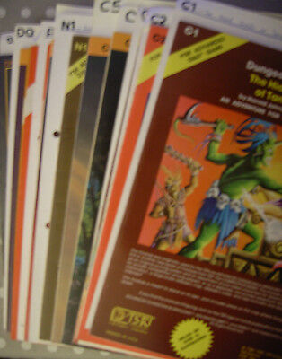 Dungeons & Dragons I Various Modules and Softback Source Book MULTILIST