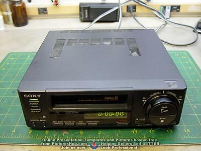 SONY EV-C40 Video8 8mm VCR Editing Player - 90 Days Wrty